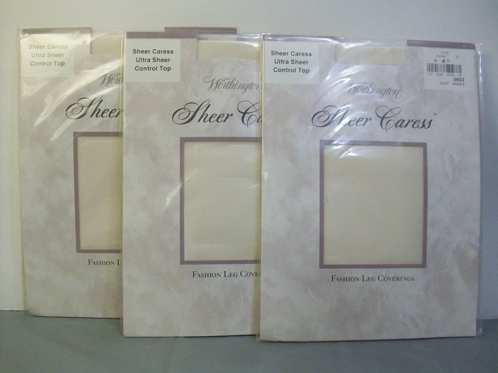 1754159822f 3 JCPenney Worthington Sheer Caress Ultra Sheer Control Top Pantyhose Size  Long  JCPenneyWorthington  Pantyhose