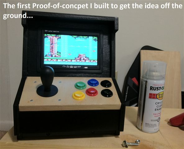 Build Your Own Mini Arcade Cabinet With Raspberry Pi   English