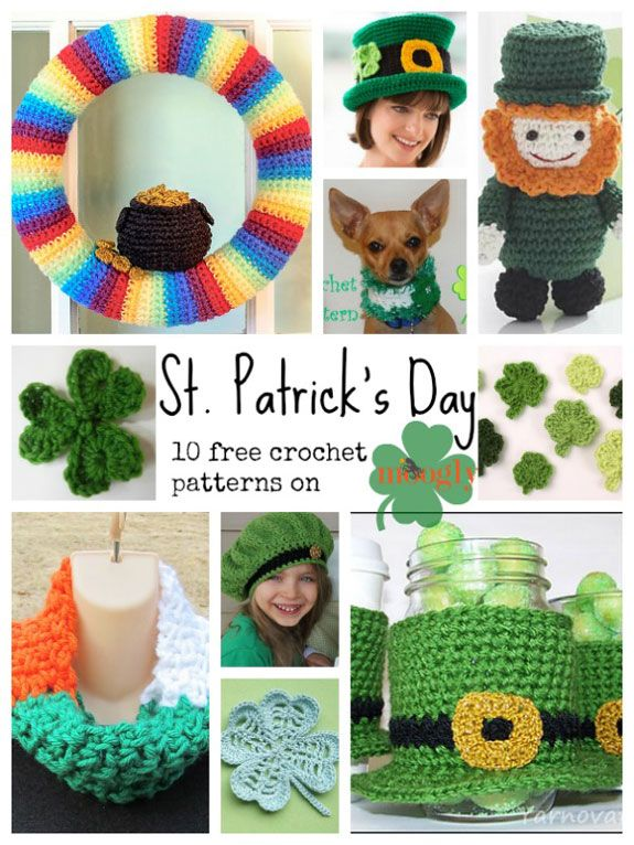 Celebrate the Luck of the Irish with free St. Patrick\'s Day Crochet ...