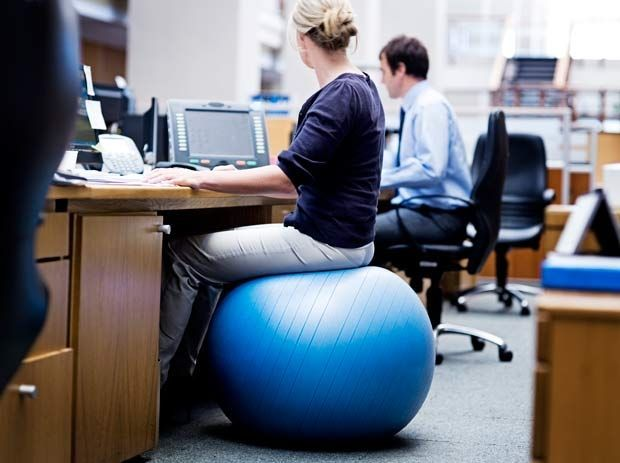 11 Easy Ways To Burn More Calories Fitness Balance Ball