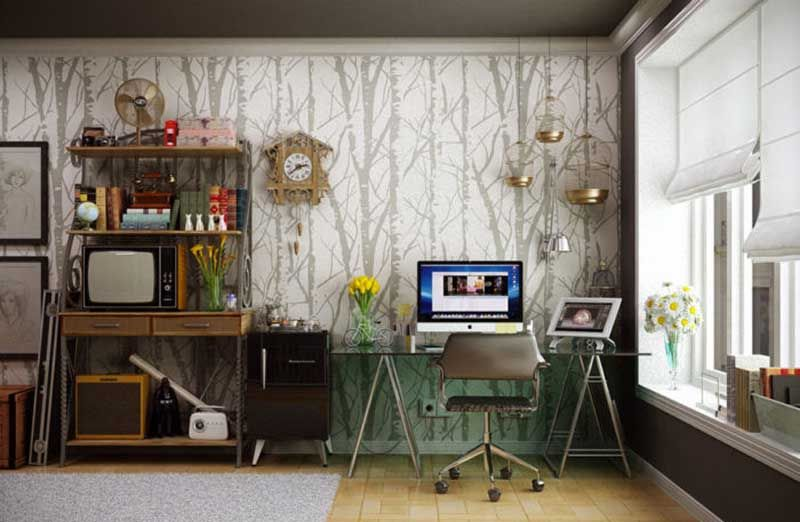 Ufficio In Casa Idee : Back to work idee per creare uno studio in casa design post