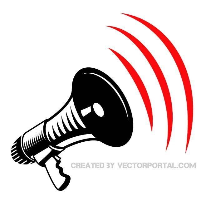 megaphone vector art art inspiration vector pinterest vector rh pinterest ca