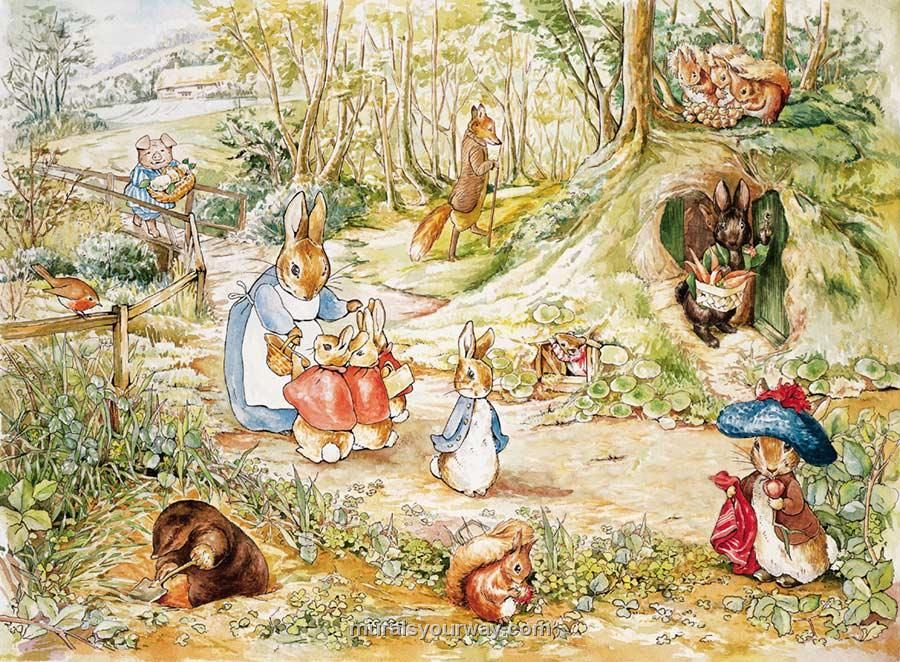 81 best ALL THINGS BEATRIX POTTER images on Pinterest | Peter ...