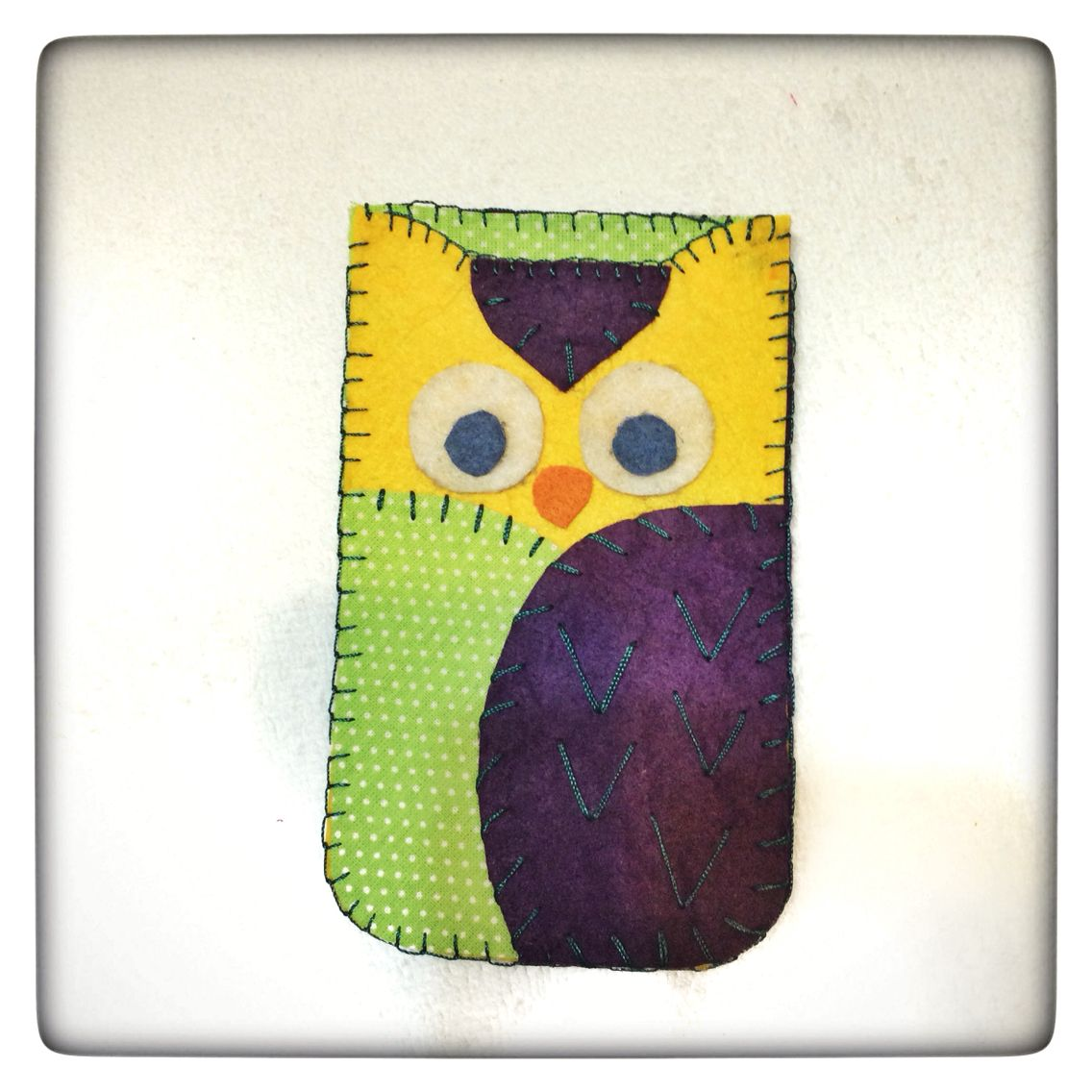 How cute is this :) handmade iphone case - lovely