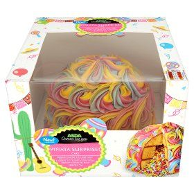 Love This Pinata Cake From Asda Fab For A Festival Or