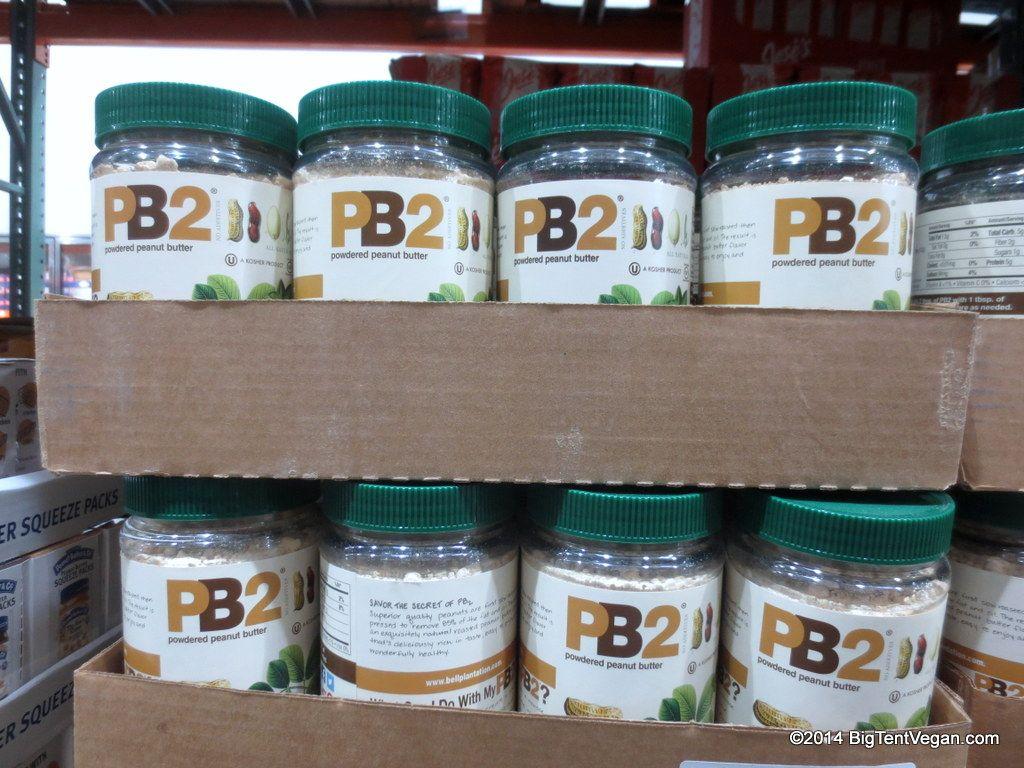 Pb2 powdered peanut butter vegan costco vegan foods