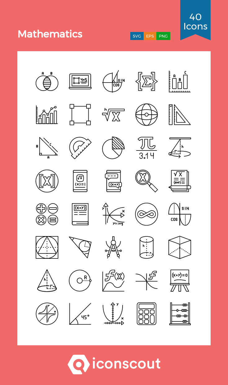 Download Mathematics Icon Pack Available In Svg Png Eps Ai Icon Fonts Math Vector Mathematical Tattoo Mathematics