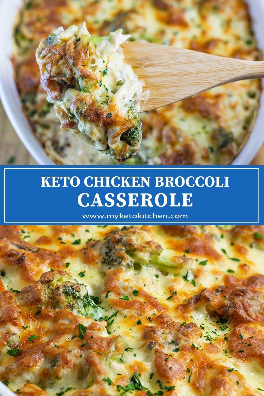Keto Chicken Broccoli Casserole -