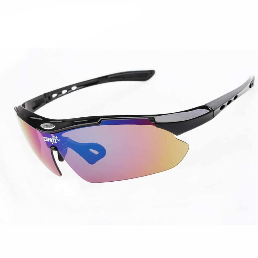 Anti Uv Sunglasses With 3 Lenses Myopia Cycling Glasses Bicycle