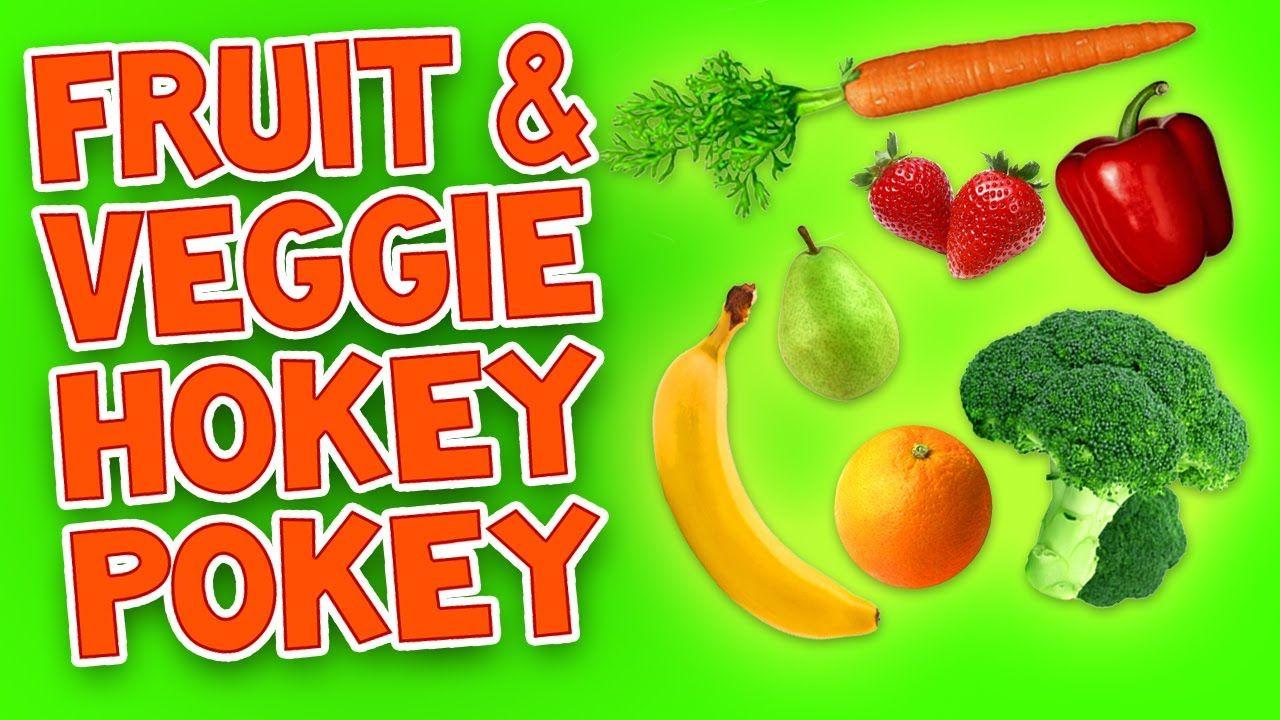 Hokey Pokey (Fruit and Veggie) Kids Dance Songs