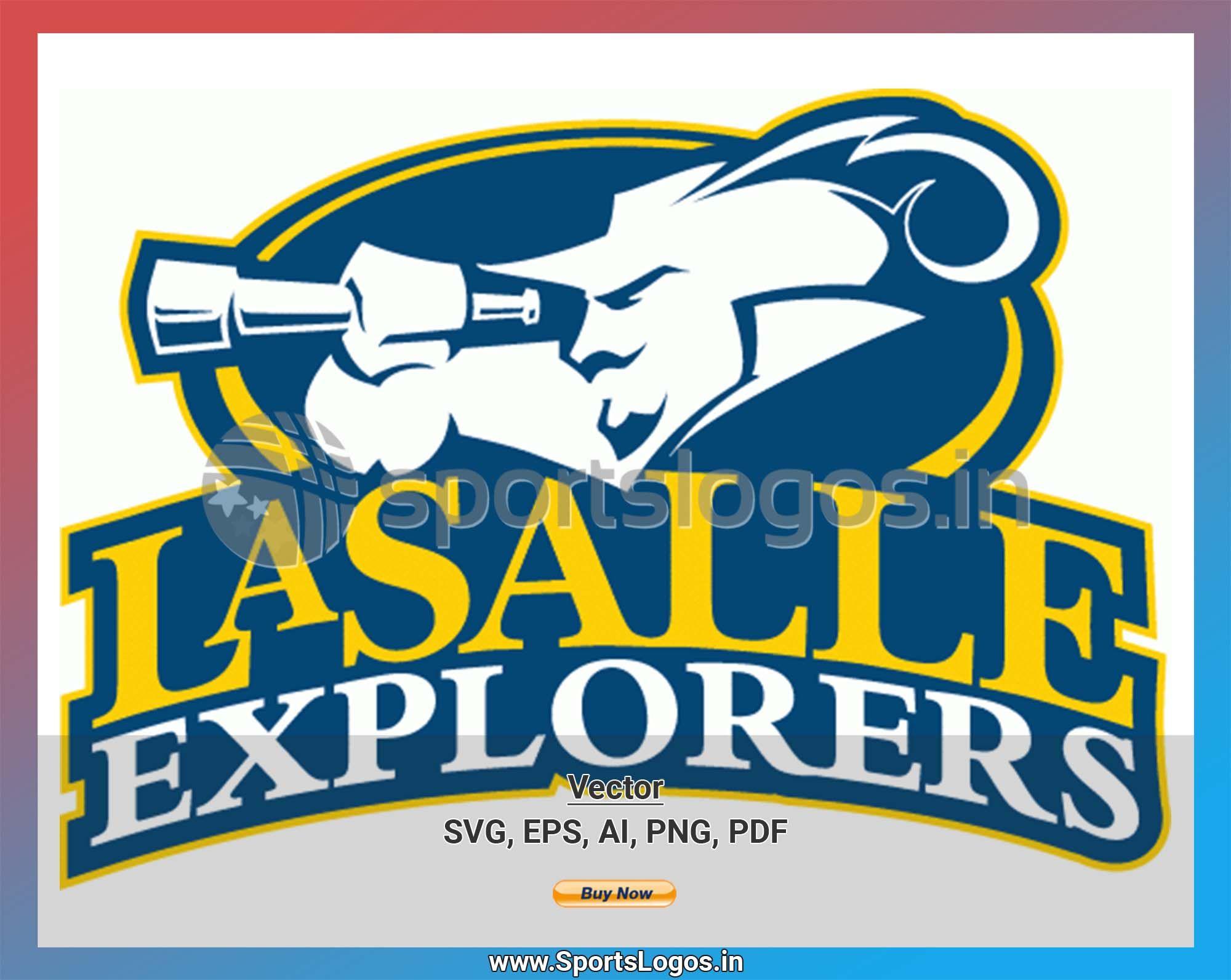 La Salle Explorers College Sports Vector Svg Logo In 5 Formats Spln002258 In 2020 College Sports Sports Logo Logo Evolution