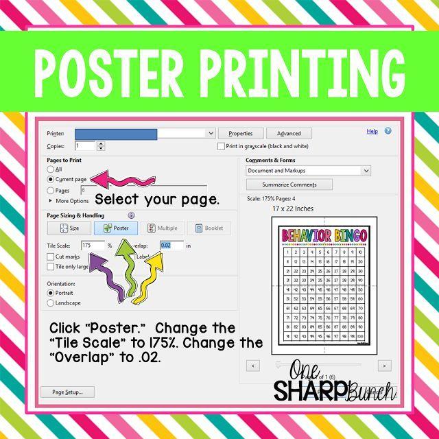 Classroom Hacks, Poster Prints, Poster