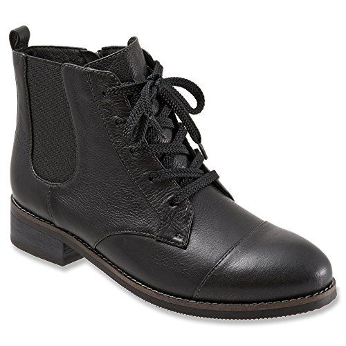 Softwalk Womens Miller Boot Black 85 M US * More info could be found at the image url.(This is an Amazon affiliate link and I receive a commission for the sales)