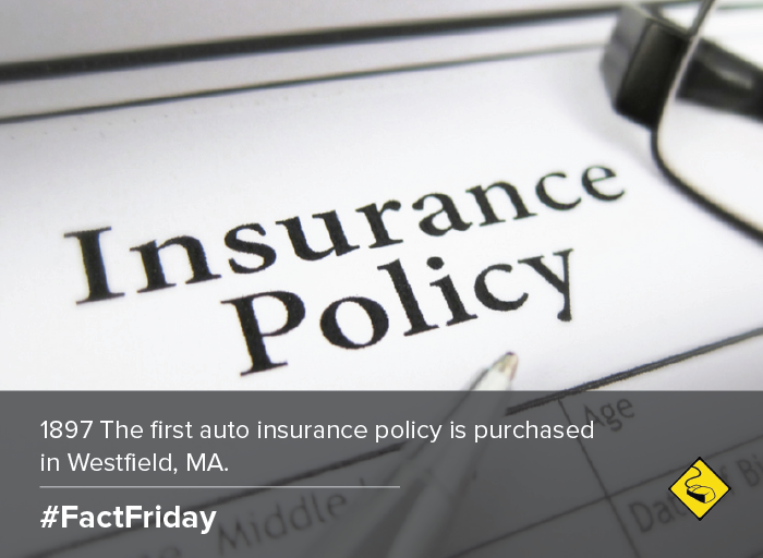 1897 The First Auto Insurance Policy Is Purchased In Westfield