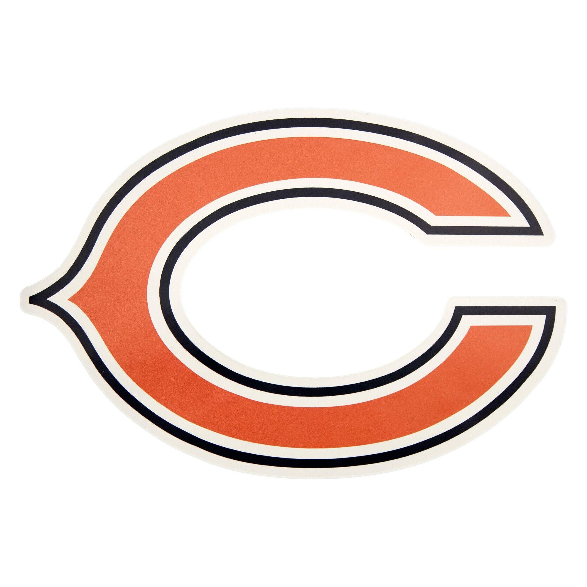 NFL Chicago Bears Small Outdoor Logo Decal Outdoor logos