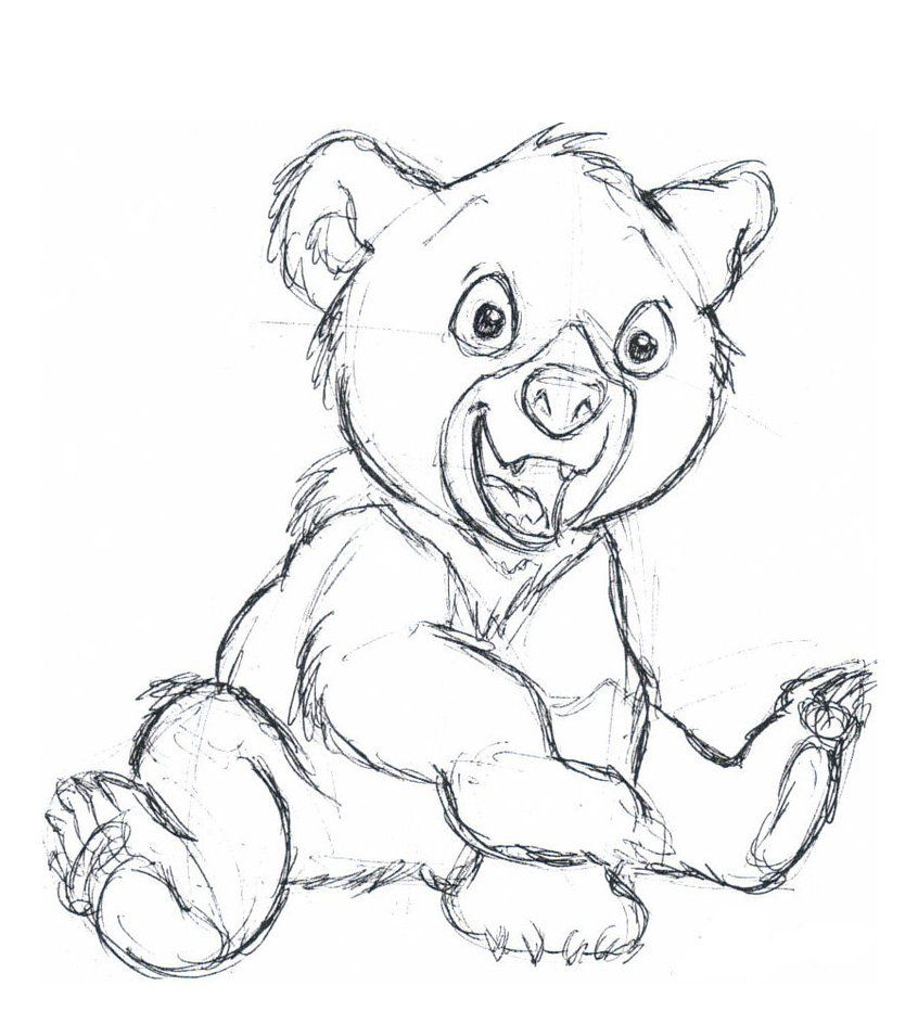 Koda. He so Cute! | Disney | Pinterest | Dibujo, Caricaturas de ...