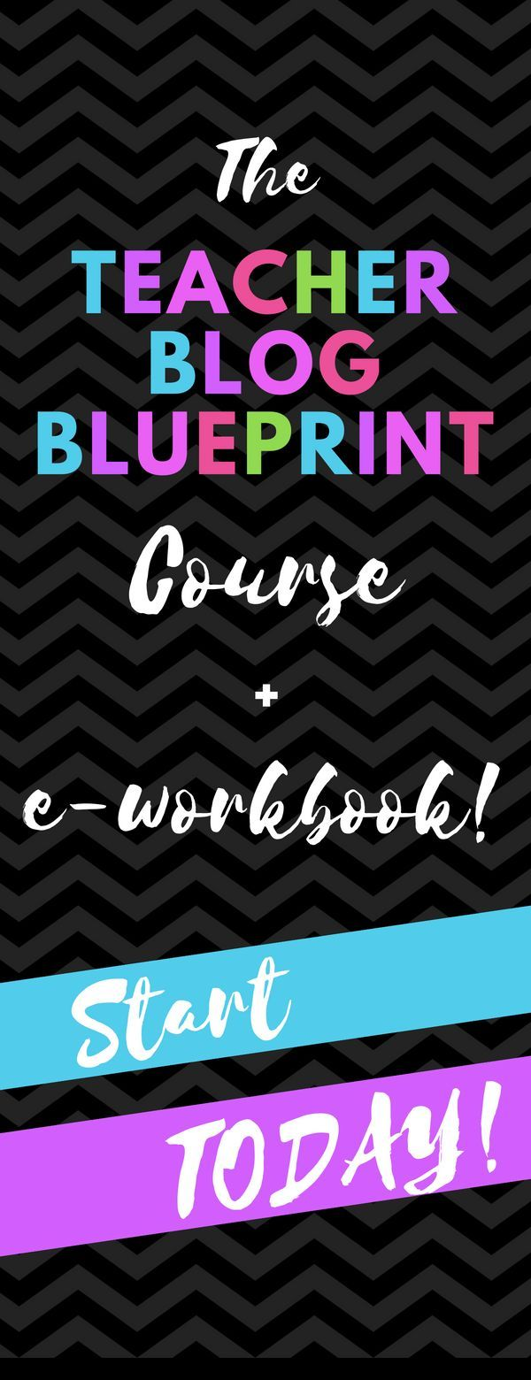 Want to start a blog but are unsure of how to get started or get want to start a blog but are unsure of how to get started or get your idea off the ground the teacher blog blueprint is a course that takes you th malvernweather Choice Image