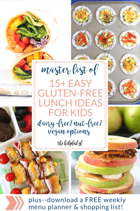 15+ GLUTEN-FREE LUNCH IDEAS FOR BACK TO SCHOOL images