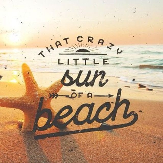 """""""Sun of a Beach #Laugh #YesToAdventures 