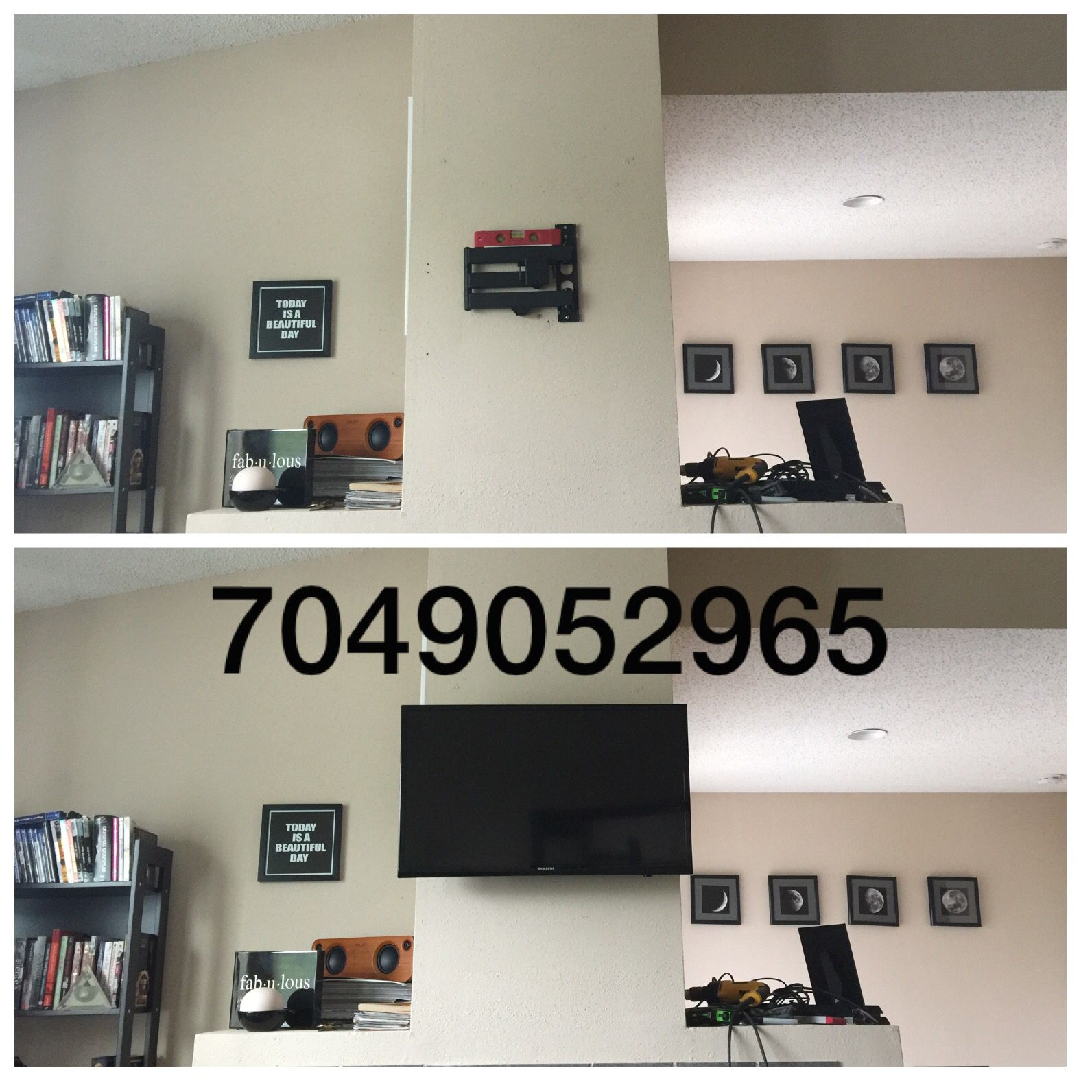 Flatscreen Tv Wall Mounting Commercial Residential Home Theater And Wiring For Network