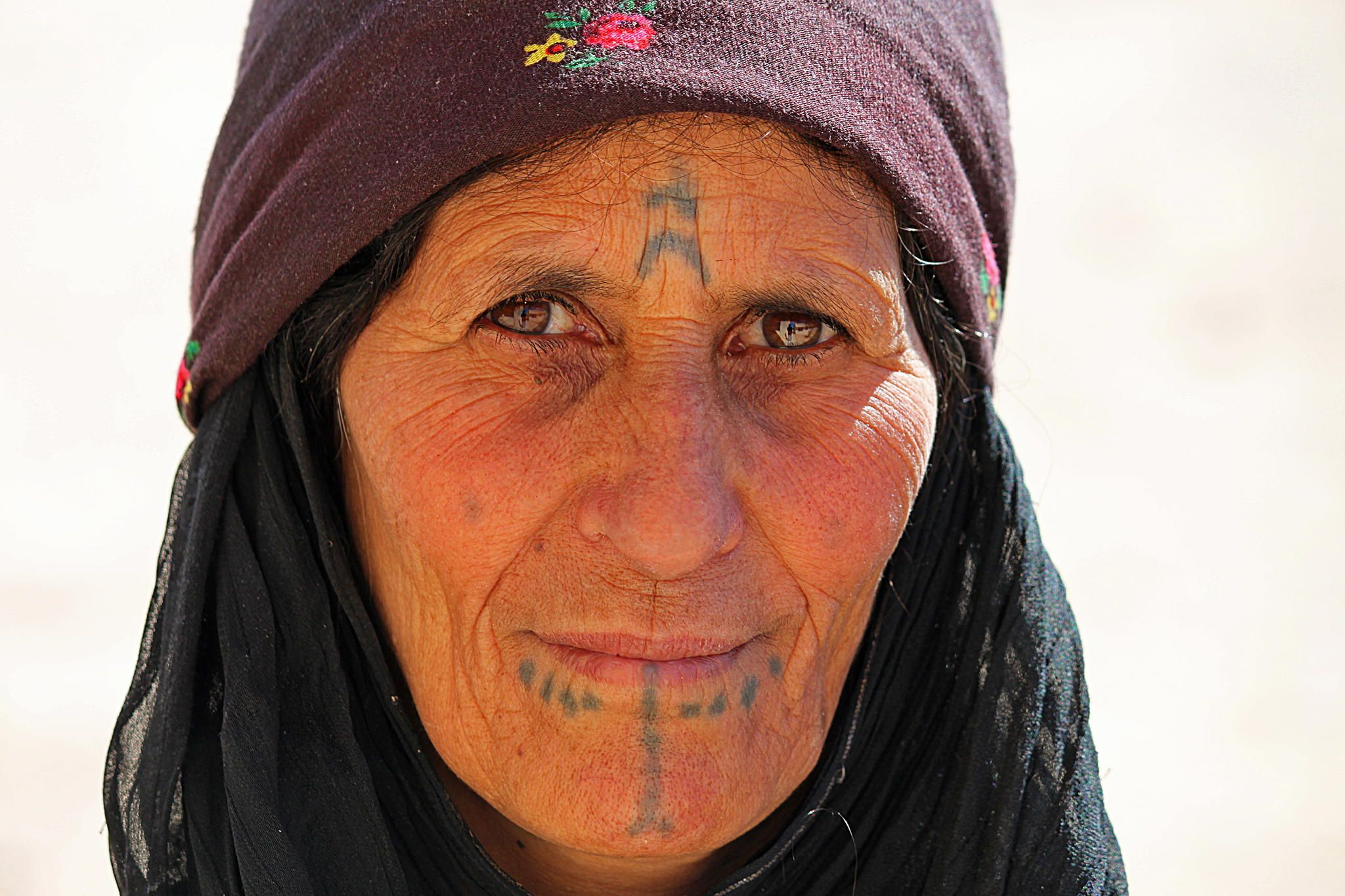 1189a44efadee Bedouin Grandmother by RawRisqArt (Rawan Risheq) on 500px | FACES ...