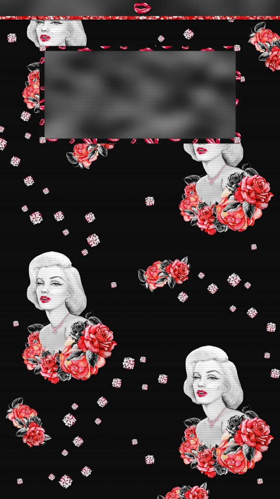 marilyn monroe home screens/lock screen tee's iscreen creations