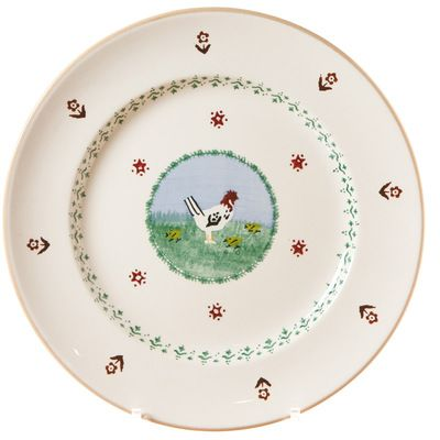 Serving Plate Hen - Nicholas Mosse