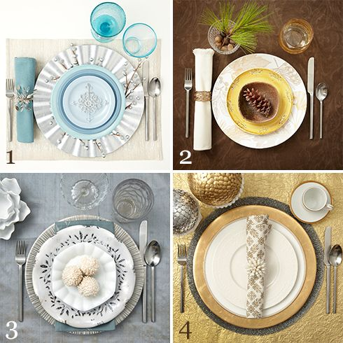 Pretty Place Settings: Winter – P&G everyday | Home & Garden | P&G ...