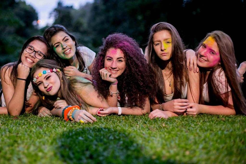 Inspiração ensaio de fotos com as amigas para os 15 anos