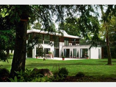 Hausansicht Bauhaus | Bauen - Häuser - Grundrisse | Pinterest ...