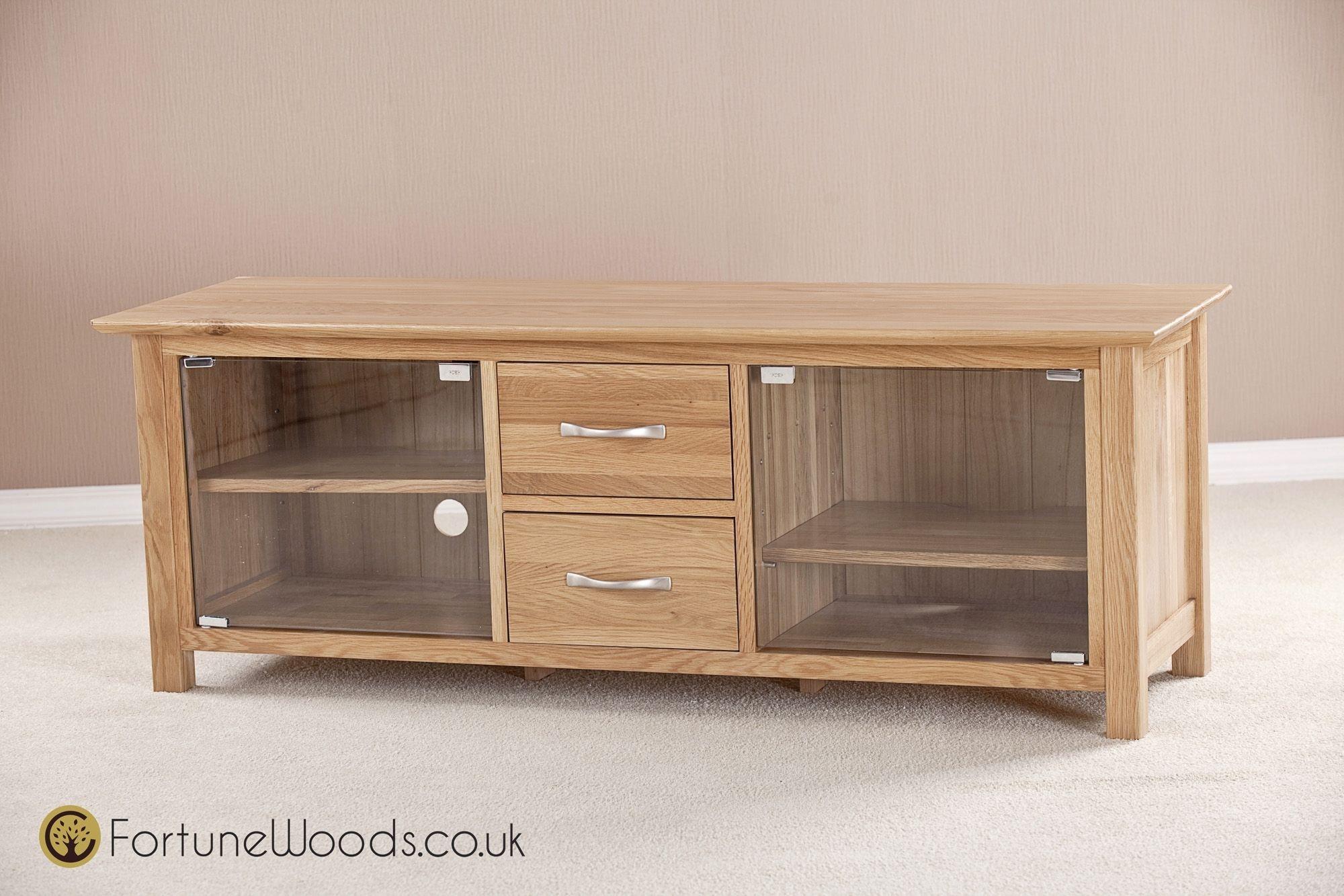 Oak Tv Cabinet With Glass Doors Http Betdaffaires Com