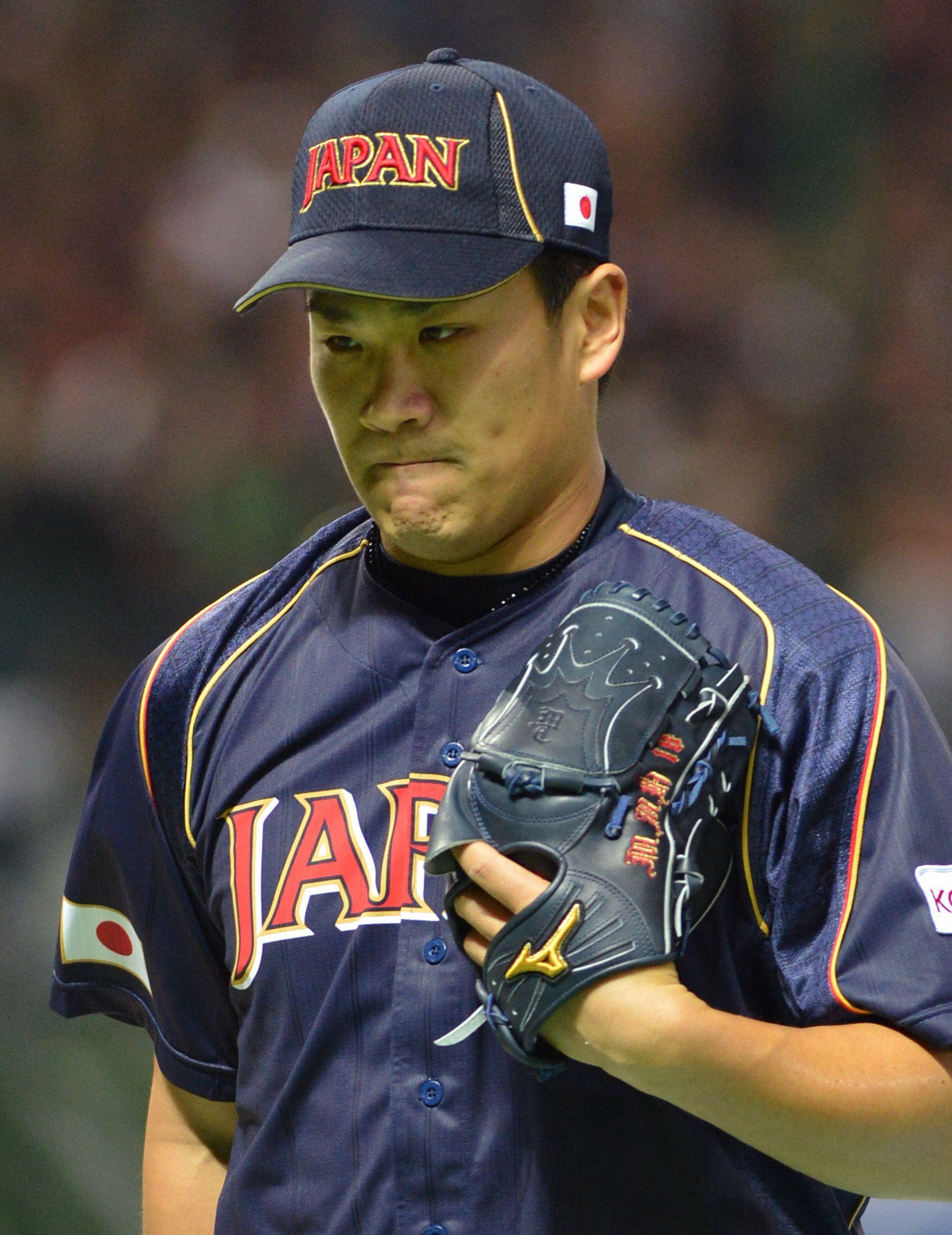 Masahiro Tanaka Team Japan World Baseball Classic Baseball Classic Baseball