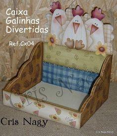 CAIXA GALINHAS DIVERTIDAS