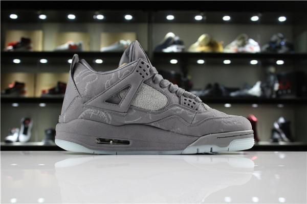 0e534cf29f6 2018 High Quality 4 Denim Jeans Travis White Jean Men IV 4S Shoes Black  Sports Sneakers Trainers Basketball Shoes With Box Carmelo Anthony Shoes  Basketball ...