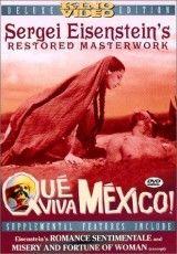 """CINE(EDU)-59. ¡Qué viva México! / dirigida por Sergueï Mikaïlovitch Eisenstein. México, 1932. Drama. O prólogo presenta ao México prehispánico. O episodio """"Sandunga"""" recrea os preparativos dunha voda indíxena. """"Festa"""" desenvolve o ritual da festa brava, mentres que """"Maguey"""" escenifica a traxedia dun campesiño. """"Soldadera"""" mostra o sacrificio dunha muller revolucionaria. O epílogo, tamén coñecido como """"Día de mortos"""" http://kmelot.biblioteca.udc.es/record=b1400635~S1*gag"""