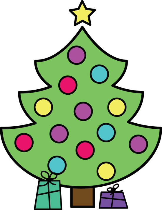 Christmas Tree Addition Freebies Christmas Tree Clipart Clip Art Freebies Christmas Freebie