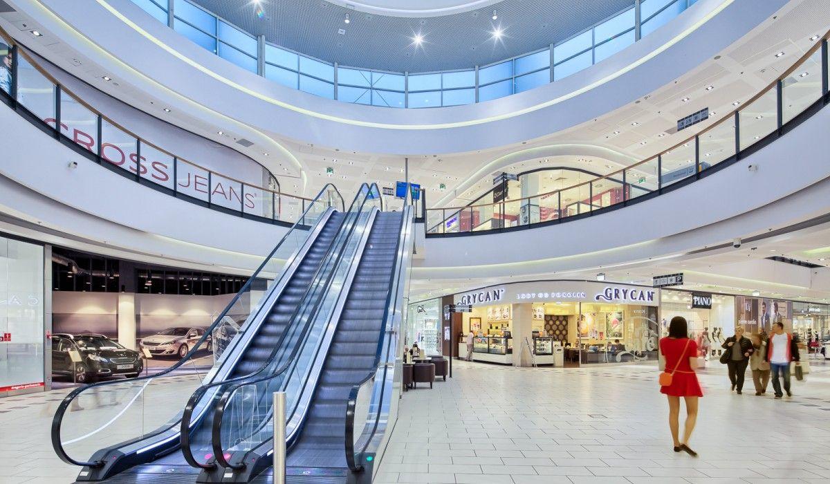 Galeria Amber Shopping Mall Kalisz Poland Mtdi Group Shopping Mall Interior Mall Design Shopping Mall Design