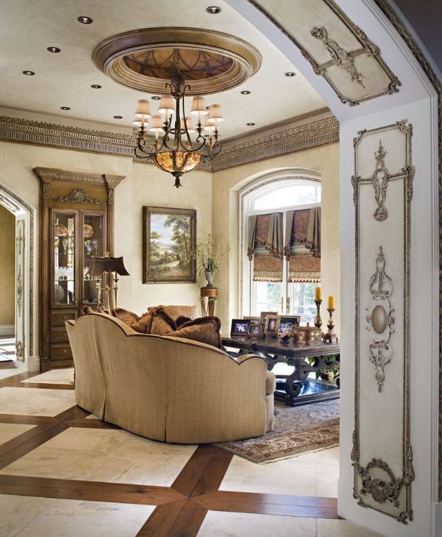 20 Awesome Tuscan Living Room Designs: Posh Interiors Marge Carson Furniture