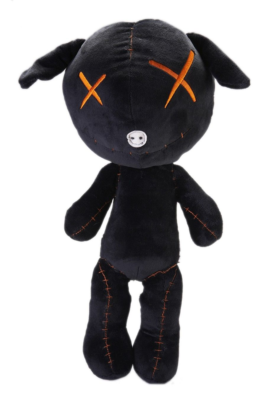 "Dreary & Naughty ""Bunniekittie"" Plush Doll. This black (or"