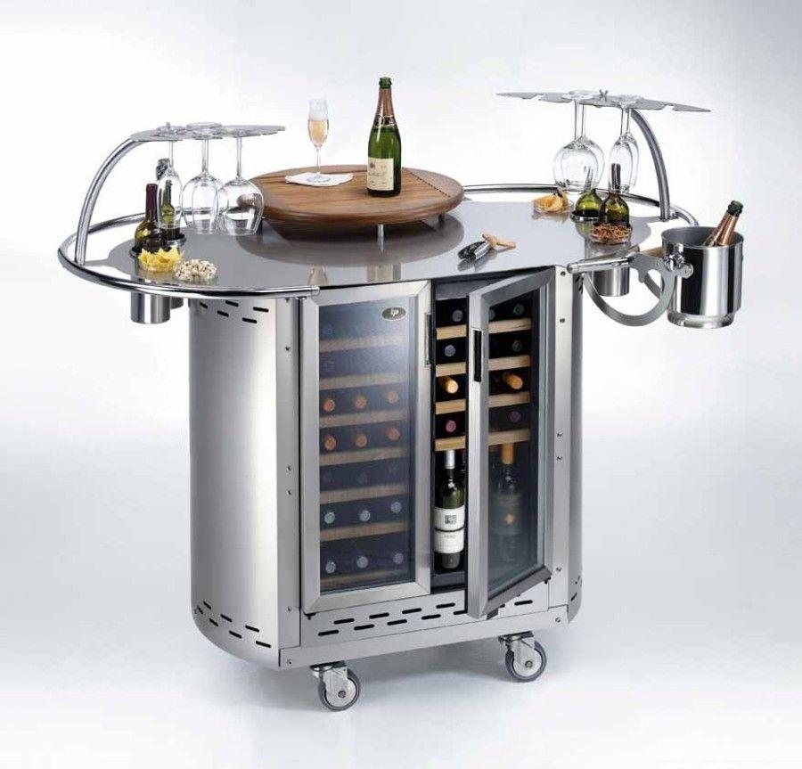 botellero refrigerado mueble bar