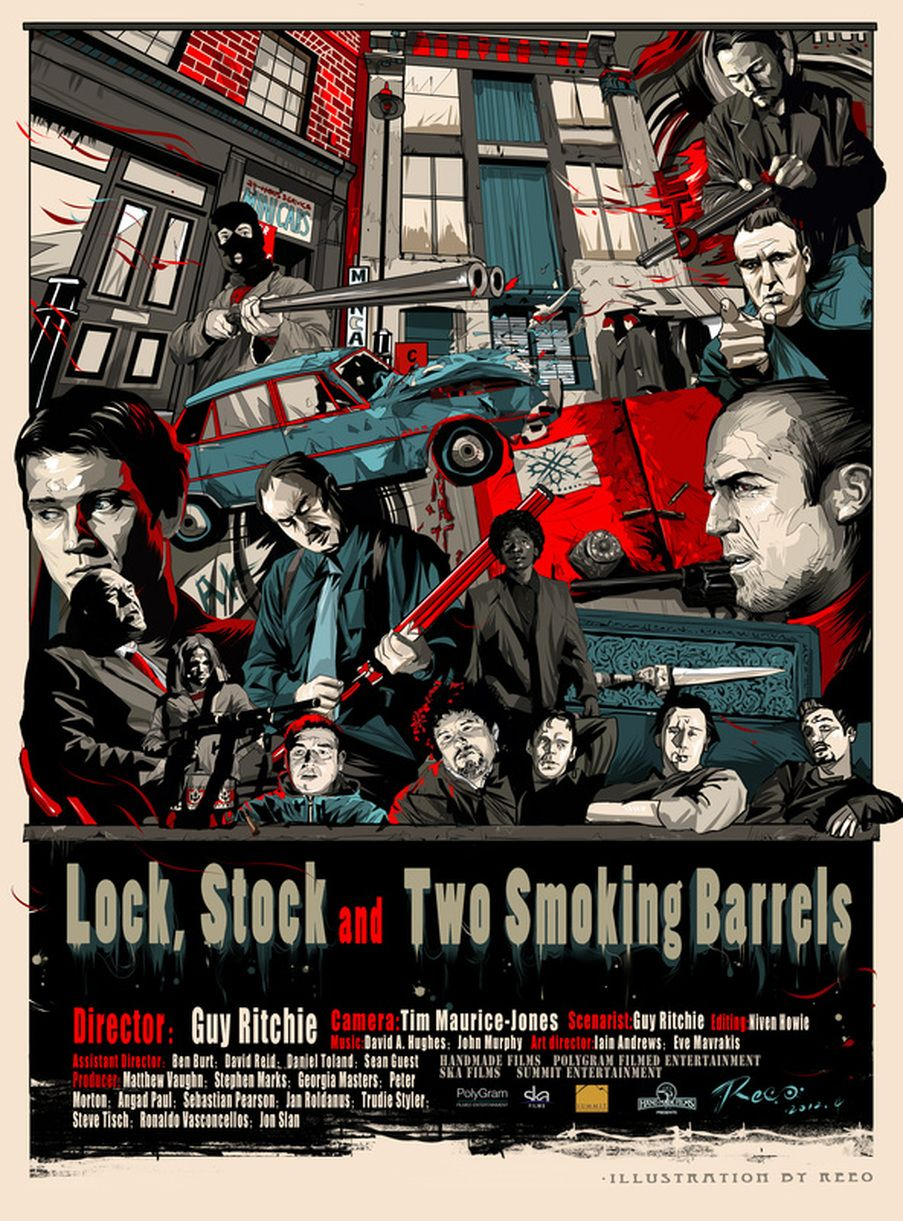lock stock and two smoking barrels 1998 original creation by
