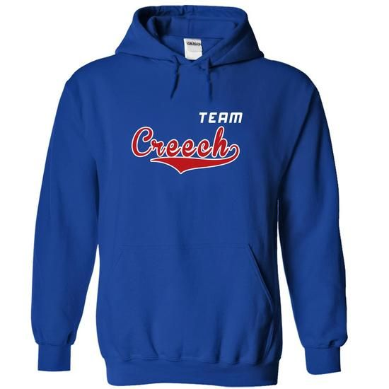 Team Creech - #golf tee #funny hoodie. LIMITED TIME PRICE => https://www.sunfrog.com/Names/Team-Creech-fgdwjxjmvz-RoyalBlue-19991857-Hoodie.html?68278