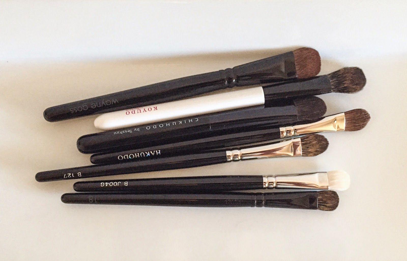 Michelle's Beauty Blog Eyeshadow Brushes Wayne Goss