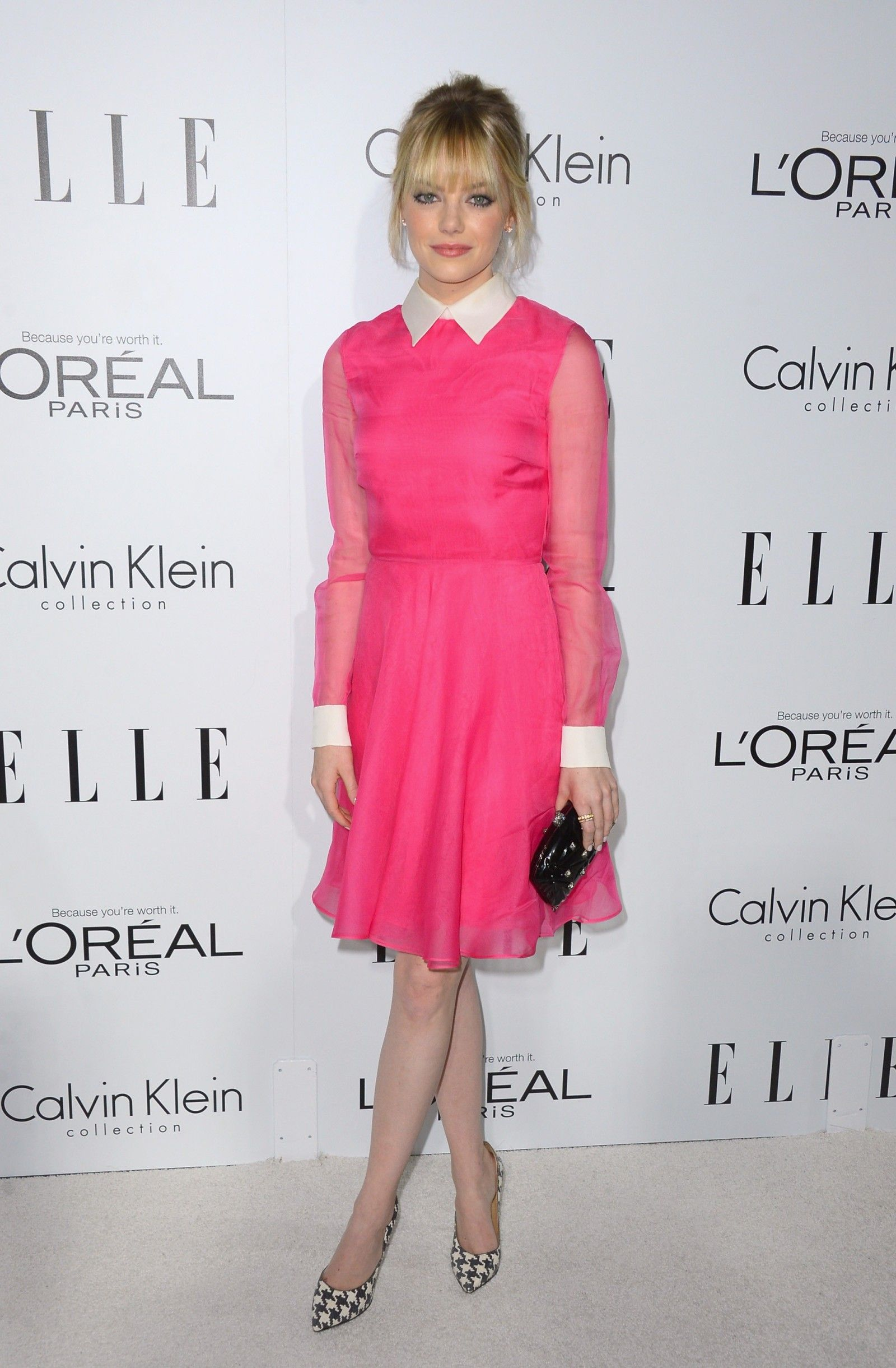 Emma Stone in Valentino at 2012 ELLE Women In Hollywood