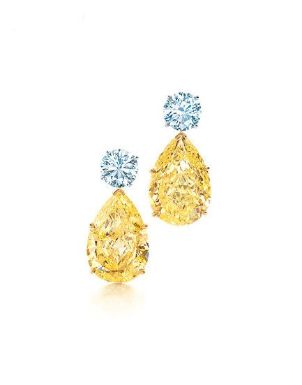 Tiffany Yellow Diamond Earrings I Need These