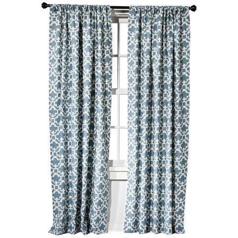 Threshold Farrah Fretwork Curtain Panel In Yellow