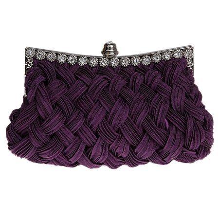 Pleated Classical Clutches
