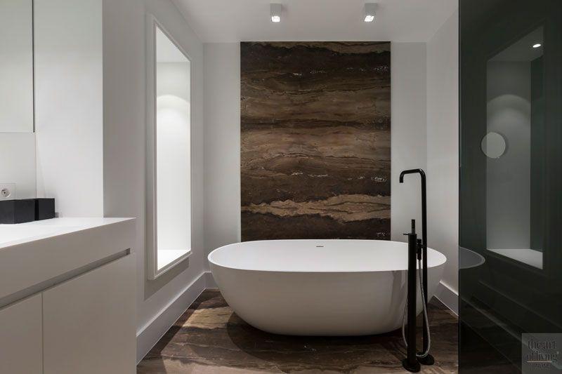 Modern appartement badkamer definitief? pinterest bathroom