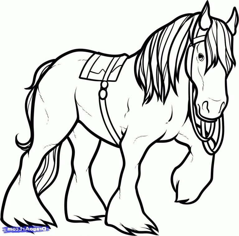 Shire Horse Coloring Pages Clydesdale Coloring Pages Gallery Photos With Download Clydesdale Horse C Horse Coloring Horse Coloring Pages Coloring Pages