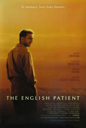 The English Patient 1996 Movie Poster Us Posters De Filmes
